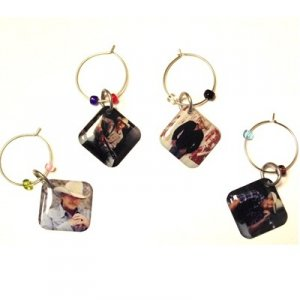 Alan Jackson Wine Charms
