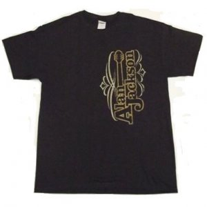 T-Shirt - Chocolate Brown Guitar Logo